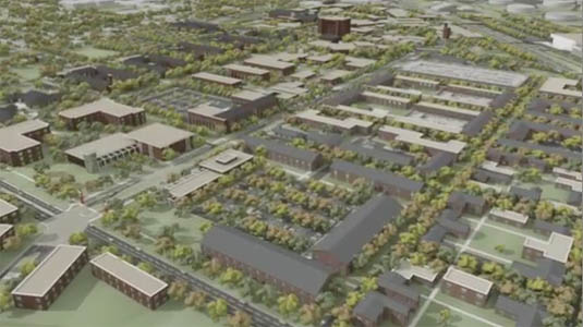 3d Architectural Animation of: Lamar University - Master Plan   Pick to watch the 3d animation
