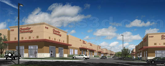 3d Rendering of: The Oaks at Chandler Creek - Retail(medium)  Pick for a higher resolution 3d rendering