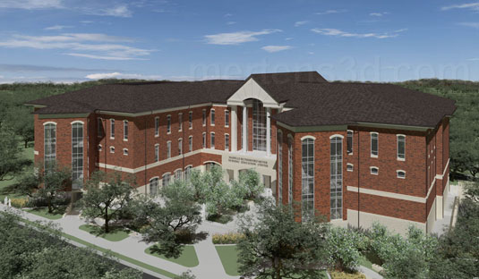 Architectural Visualization of: UMHB - University of Mary Hardin-Baylor - Nursing School(medium)  Pick for a higher resolution 3d rendering