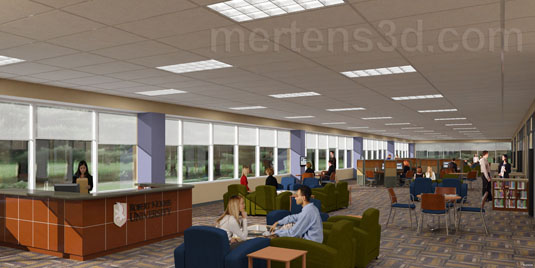 3d Interior Rendering of: RMC - Elgin(medium)  Pick for a higher resolution 3d rendering