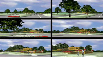 3d Video of: Seven Meadows - Secondary Entry Monument   Pick to watch the 3d animation