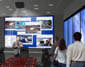 Select for related 3d architectural rendering/ animation : Interior Illustration of: Dell Enterprise Command Centers Conference Room