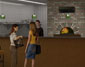 3d Interior Rendering of: Oak Park Restaurant - View B (thumbnail)