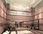 Select for related 3d architectural rendering/ animation : 3d Interior Rendering of: Prominent Pointe II Lobby